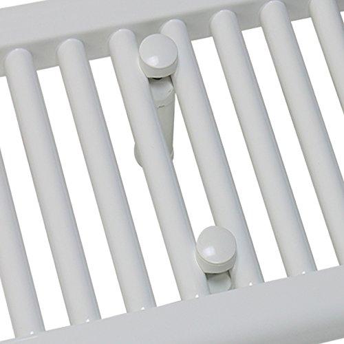 1300 mm breit x 400 mm handtuchw rmer flach handtuchheizung badheizk rper heizk rper profi. Black Bedroom Furniture Sets. Home Design Ideas
