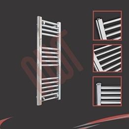 300mm (w) x 800mm (h) Bad Heizkorper Gerade Chrom Rohrdurchmesser 22mm, Bar Muster: 4 + 5 + 6 -