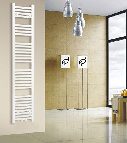 badheizk rper 300x1500 mm oval wei mittelanschluss r20. Black Bedroom Furniture Sets. Home Design Ideas