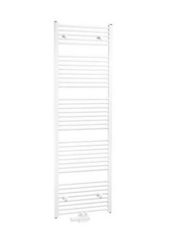 Buderus Badheizkörper Set Logatrend Curve gebogen Mittenanschluss Komplettset (1820 x 595 mm gebogen) -