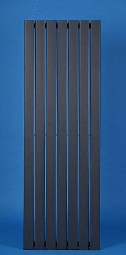 DESIGN PANEELHEIZKÖRPER HEIZKÖRPER BADHEIZKÖRPER 532 X 1800 mm mit Anthrazit Mittelanschluss NEU -