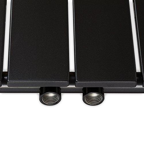 design paneelheizk rper heizk rper badheizk rper anthrazit mit mittelanschluss handtuchstange. Black Bedroom Furniture Sets. Home Design Ideas