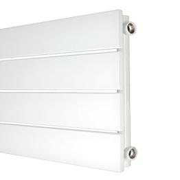 Design Paneelheizkörper horizontal Höhe 298 mm verschiedene Breiten Heizkörper Badheizkörper (298 mm x 600 mm) -