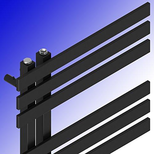 designbadheizk rper verona 1400 x 500 mm anthrazit schwarz badheizk rper handtuchtrockner. Black Bedroom Furniture Sets. Home Design Ideas