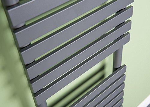 designer handtuchheizk rper badheizk rper 1810x450mm grau heizk rper profi. Black Bedroom Furniture Sets. Home Design Ideas