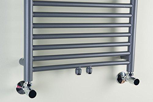 designer handtuchheizk rper badheizk rper 600 x 500 x 260 grau heizk rper profi. Black Bedroom Furniture Sets. Home Design Ideas