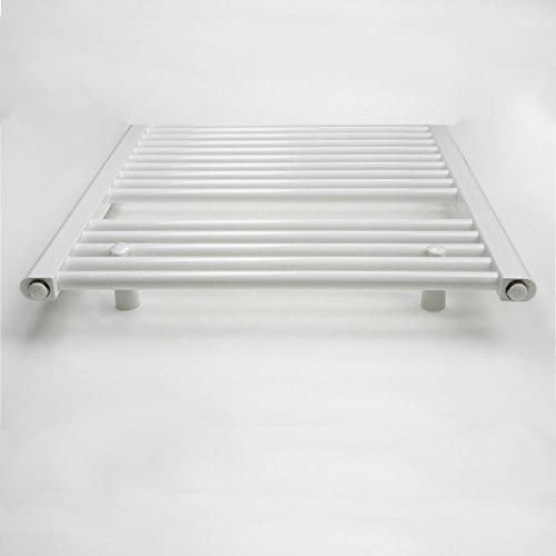 elektro badheizk rper 298 watt h x b 775 x 400mm weiss gerade anschluss rechts inkl. Black Bedroom Furniture Sets. Home Design Ideas