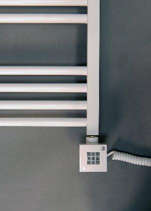 Elektrobadheizk rper wei gerade 1074h x 600b handtuchhalter handtuchheizung elektro - Handtuchhalter elektrisch ...