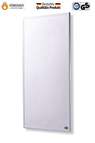fern infrarot heizung 600 watt mit digital thermostat gs t v extrem d nne heizung 1cm. Black Bedroom Furniture Sets. Home Design Ideas