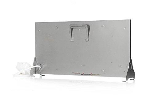 infrarotheizung granit grau beige 400 watt stand variante mit steckdosenregler heizk rper. Black Bedroom Furniture Sets. Home Design Ideas