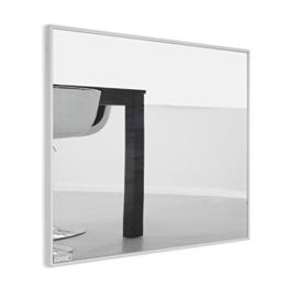 Infrarotheizung Spiegel mit Aluminium - Rahmen, 10mm / 210 Watt -
