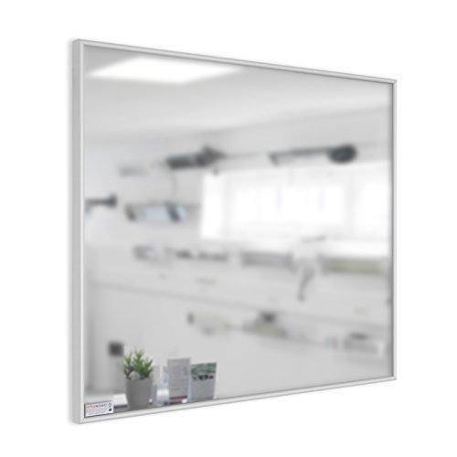 infrarotheizung spiegel mit aluminium rahmen 10mm 210 watt heizk rper profi. Black Bedroom Furniture Sets. Home Design Ideas