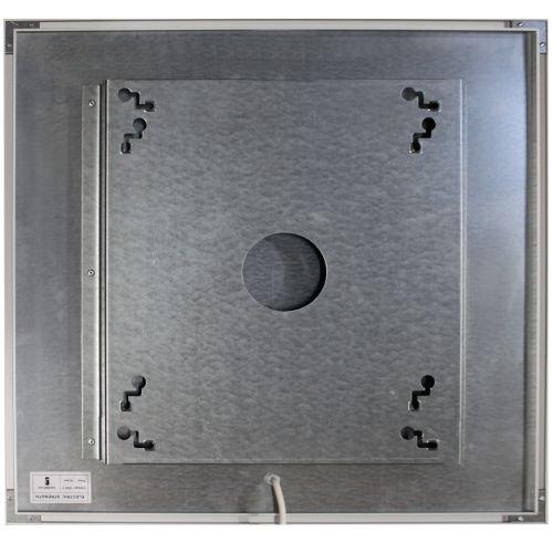 infrarotheizung spiegel mit alurahmen 600 watt. Black Bedroom Furniture Sets. Home Design Ideas