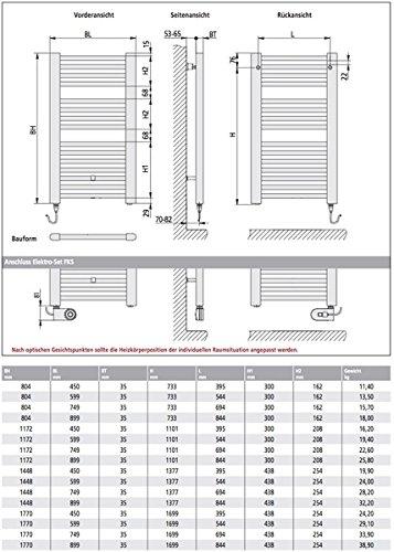 kermi basic e badheizk rper elektro set fks rechts 45 x 117 cm wei ral 9016 e0e101200452jxk. Black Bedroom Furniture Sets. Home Design Ideas
