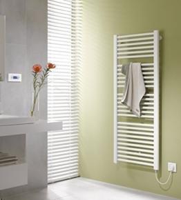 Kermi Basic-E Badheizkörper, Elektro-Set WFC rechts, 90 x 117 cm, weiß RAL 9016, E0E101200902HXK -
