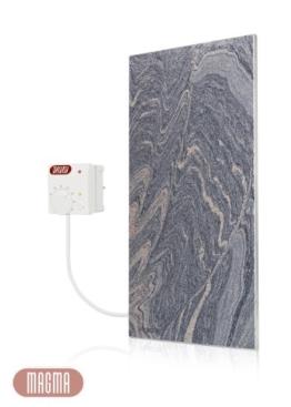 Magma Infrarotheizung 400Watt (Juparana Grey) mit Steckdosenregler -