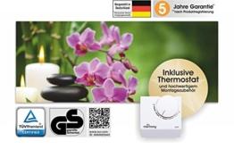"marmony Marmor Naturstein-Bildheizung 800W mit Thermostat Bildmotiv ""Relax"" [81002] -"