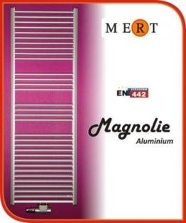 MERT Magnolie Aluminium-Badheizkörper (Variante: Breite:400 Höhe:730) -
