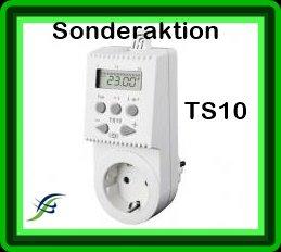 Steckdosenthermostat TS 10 Ideal für Infrarotheizungen -