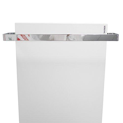 vasner chrom handtuchhalter und handtuchw rmer f r infrarotheizungen citara glas metall. Black Bedroom Furniture Sets. Home Design Ideas