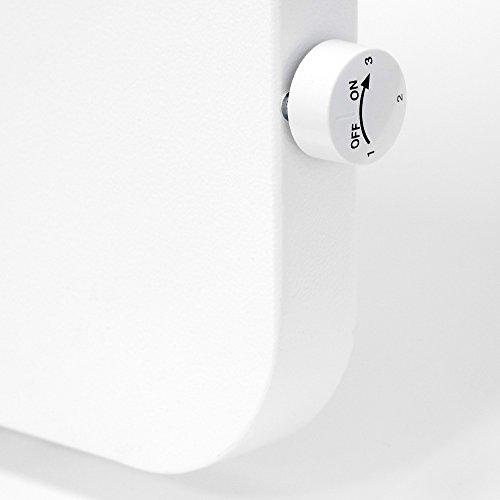 vasner konvi plus design infrarot hybridheizung 1200 watt runde ecken wei 140x60cm. Black Bedroom Furniture Sets. Home Design Ideas