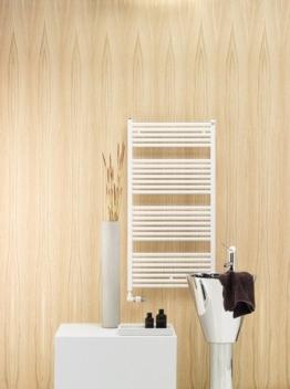 Zehnder Zeno Badheizkörper mit Mittelanschluss 50 x 169 cm weiß RAL 9016; 500 x 1688 x 30 -